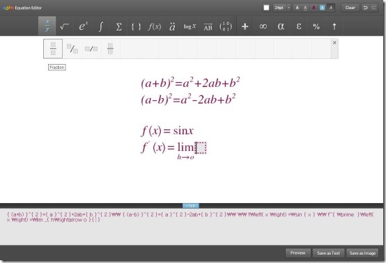 Daum Equation Editor 3