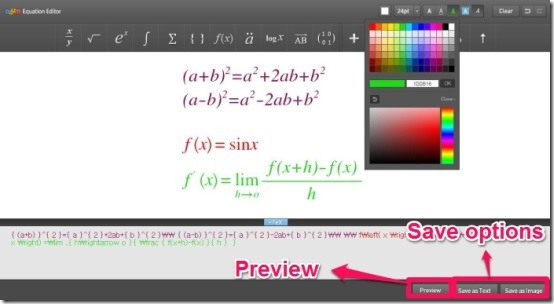 Daum Equation Editor 4