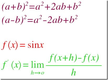 Daum Equation Editor final image