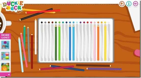 Duckie Deck Color Matching-Crayons