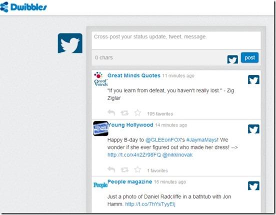 Dwibbles homepage