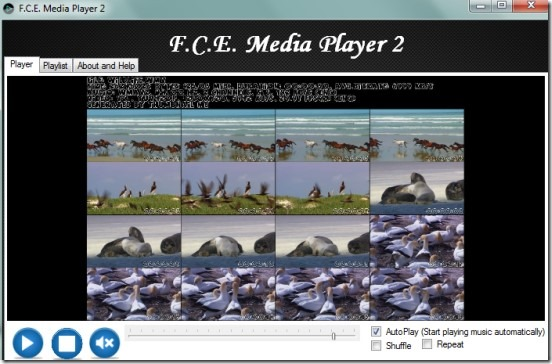 F.C.E Media Player 2 free portable media player 01