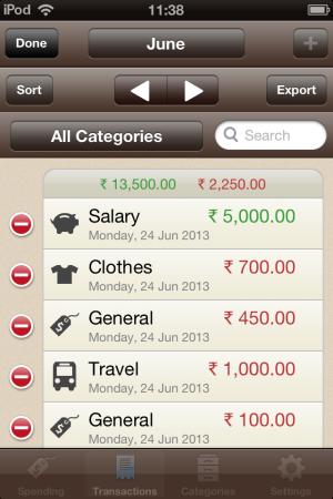 Spending Tracker-edit or remove expenses-Spending Tracker