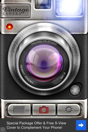 Vintage camera-Homescreen