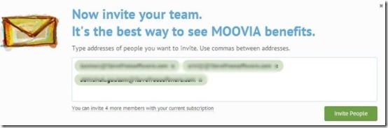 MOOVIA invite members