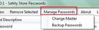 Pault- manage passwords
