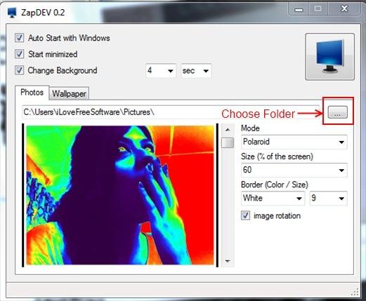 ZapDEV 02- customize desktop background