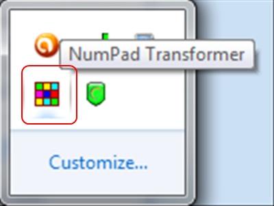 Numpad Transformer