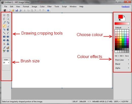 NPS Image EditorTools