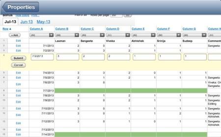 iSpreadsheet-add and edit your Spreadsheet- spreadsheet on iPhone