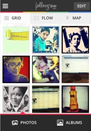 Followgram-homepage-display instagram photos