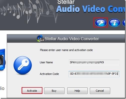 Stellar Audio Video Converter_activation 04 free audio video converter