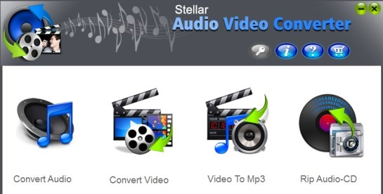 Stellar Audio Video converter 01 free audio video converter