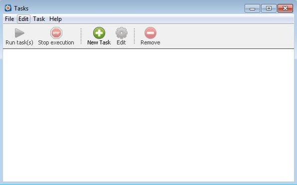 Task Till Dawn default window