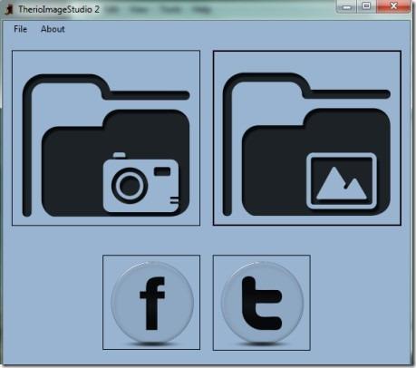 TherioImageStudio 2_interface 01 capture desktop screen