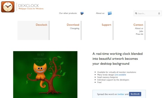 dexclock interface