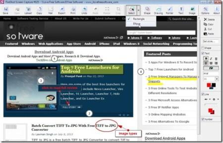 FireShot editing window