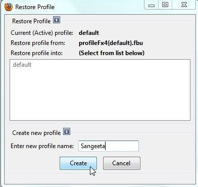 febe create profile