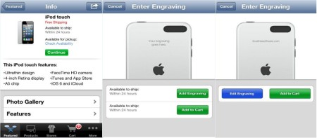 Apple Store- Customize Your iPod