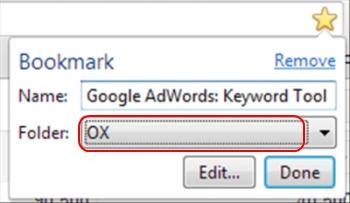 ox bookmarking