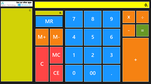 ribbon calculator