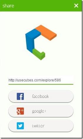 usecubes share