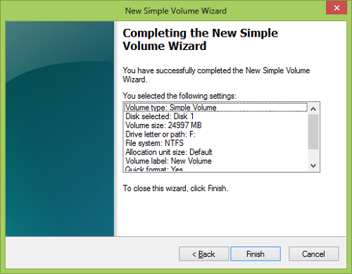 wizard complete