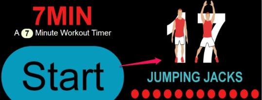 7Min- online workout app