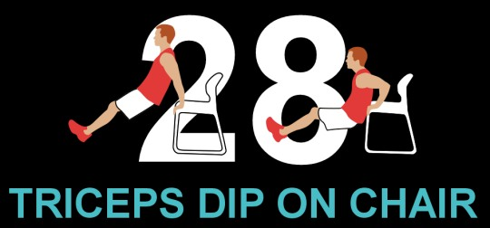 7Min- triceps dip on chair
