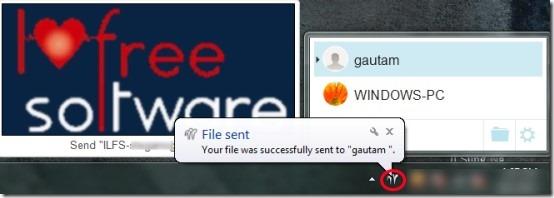 Any Send- send file