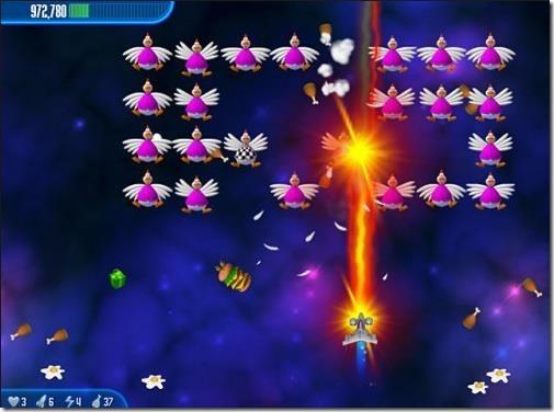 Chicken Invaders 3 - game screnshot2