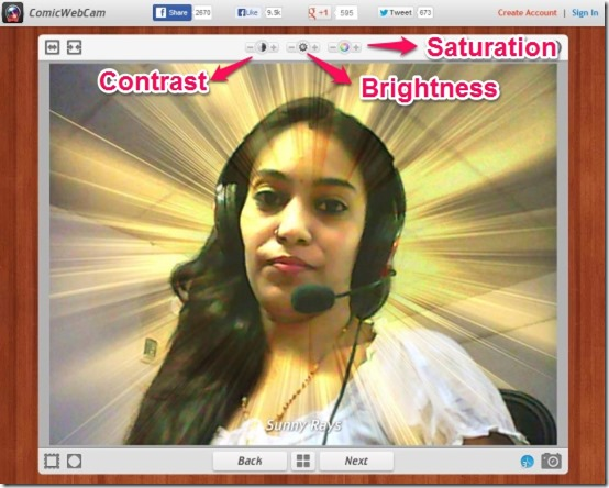Comic Webcam