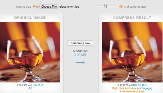 Compressnow- reduce image size