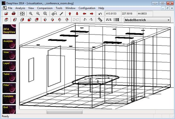 DeepView viewing cad file