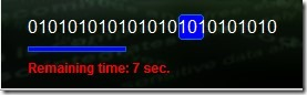 Encoding Decoding- encryption process in progress