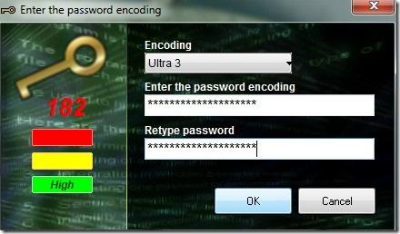 Encoding Decoding- set a password for encoding