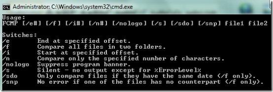 FCME.exe- commands