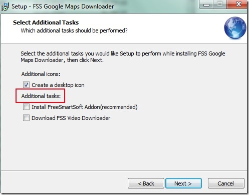 FSS Google Maps Downloader- installation