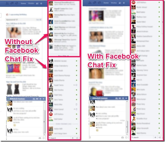 Facebook Chat Fix