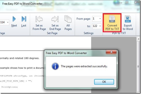 Free Easy PDF To Word Converter- extract text from pdf