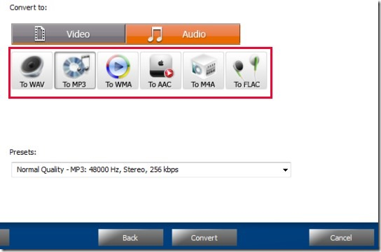 Free Easy Video to MP3 Converter- convert media files to audio