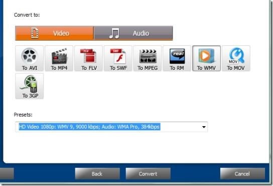 Free Easy Video to MP3 Converter- convert media files to video