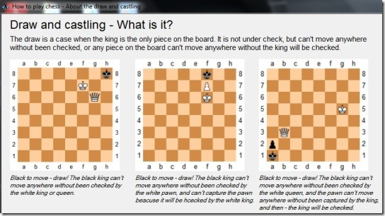 How To play Chess- draw and casting stage
