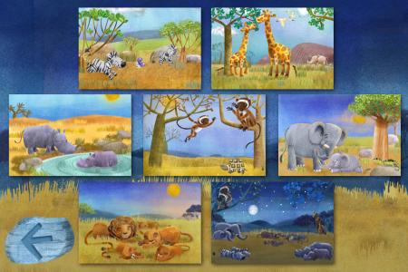 Goodnight Safari- choose any scene
