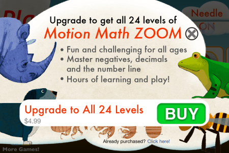 Motion Math Zoom- buy all levels