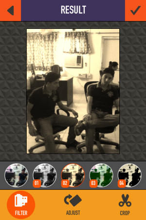 Clone Camera - Add presets to photo