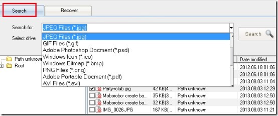 IconCool File Recovery- search deleted files
