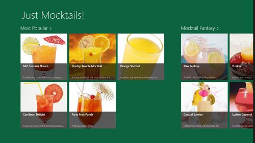 Just Mocktails