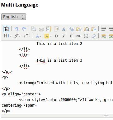 KindEditor HTML