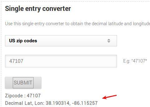 MapsData single entry converter